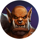 heroes that looks like Garrosh