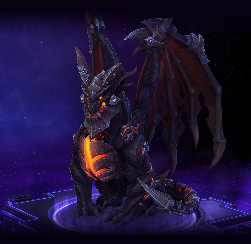 Deathwing Heroes Of The Storm Deathwing is covered by adamantium armor plates, granting him armor. deathwing heroes of the storm