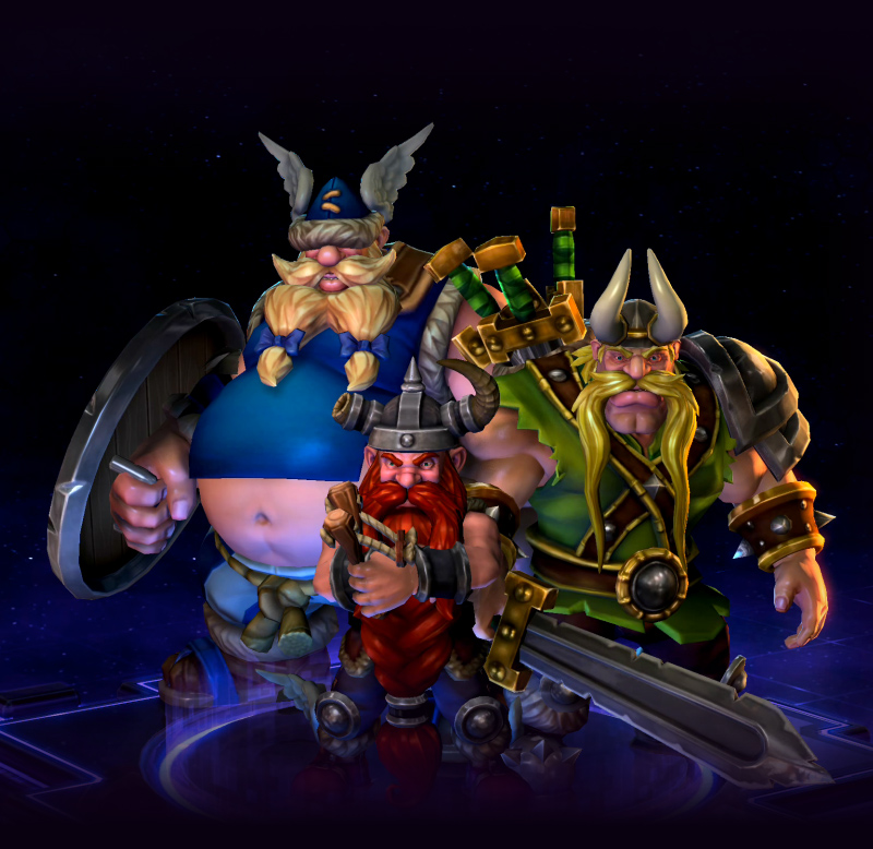 The Lost Vikings Heroes Of The Storm